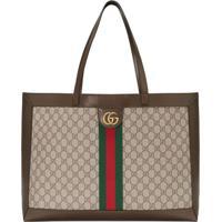1e03076f5 Farfetch; Gucci Bolsa Tote Ophidia Gg - Marrom