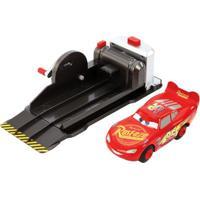 Lançador E Mini Veículo - Disney - Pixar - Carros - Manobras Incríveis - Mattel