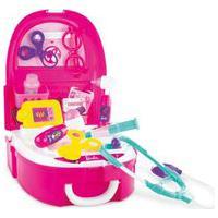 Barbie Kit Médica Mochila Com Acessórios - Fun Divirta-Se