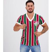 Camiseta Fluminense Retrô 1952 - Masculino-Verde