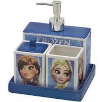 Jogo De Banheiro Frozen 4 Peças – Disney