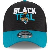 Boné Jacksonville Jaguars Draft 2018 3930 - New Era - Unissex-Preto
