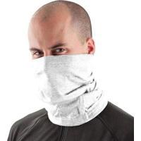 Bandana Tube Neck Proteção De Pescoço Uv50+ Slim Fitness - Masculino-Branco