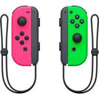 Controle Nintendo Joy-Con L/R Switch Rosa Neon/Verde Neon