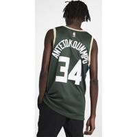 Camiseta Regata Nike Milwaukee Bucks Icon Edition Swingman Masculina