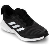 Tênis Adidas Fortarun K Infantil - Unissex-Cinza+Branco