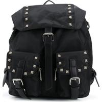 John Richmond Junior Mochila Com Tachas - Preto