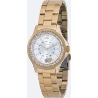 Kit Relógio Feminino Lince Lrg4518L Ku40S2Kx Analógico 3Atm + Conjunto Semijóia