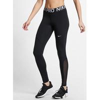 Calça Legging Nike Tight Feminina - Feminino-Preto+Branco