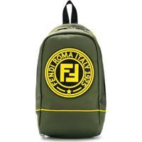 Fendi Kids Bolsa Com Logo - Verde