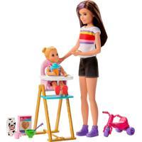 Barbie Skipper Babysitter Hora Da Alimentaçáo - Mattel - Tricae