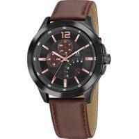 Relógio Analógico Seculus Masculino - 20822Gpsgpr3 Marrom