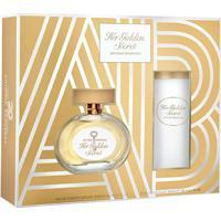 Kit Her Golden Secret Edp Antonio Banderas – Perfume Feminino 80 Ml + Desodorante 150 Ml - Feminino-Incolor