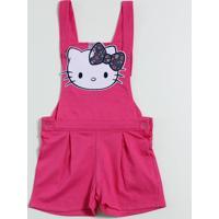 Jardineira Infantil Hello Kitty Marisa