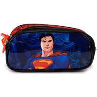 Estojo Luxcel Super-Homem Preto