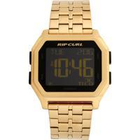 f389842d11b79 Relógio Rip Curl Atom Digital Gold Sss Dourado