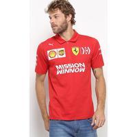 Camisa Polo Puma Sf Team Masculino - Masculino