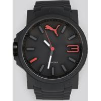 Relógio Analógico Puma Masculino - 96294G0Psnv3 Preto - Único