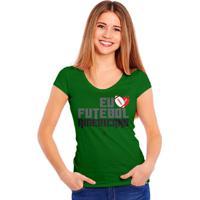 Camiseta Eu Six Points Amo Futebol Americano - Feminino