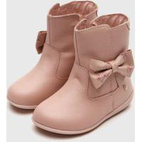 Bota Bibi Infantil Rainbow Rosa