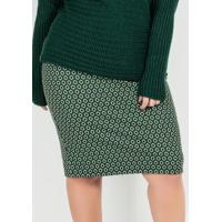 Saia Plus Size Verde Alongada