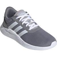 Tênis Juvenil Adidas Lite Racer 2 0 K - Unissex-Cinza+Branco
