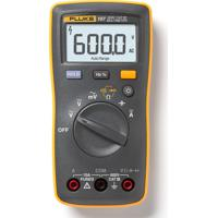 Multímetro Digital 3 ½ Dígitos Tensão/Corrente Ac/Dc Cat Iii Fluke-107