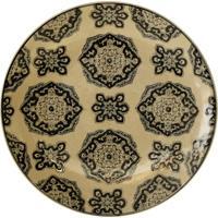 Prato De Parede Decorativo De Porcelana Minch