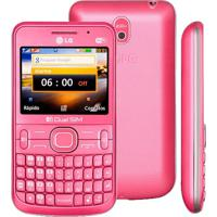 "Celular Lg C397 - Dual Chip - Câmera 2Mp - Tela 2.3"" - Rosa"