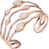 Monica Vinader Bracelete Siren Com Quartzo - Rosa