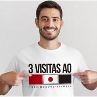 Camiseta Zé Carretilha Tricolor Japão Masculino - Masculino