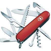 Canivete Huntsman Com 15 Funã§Ãµes- Inox & Vermelho- 9Victorinox
