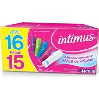 Absorvente Intimus Gel Interno Mini C/ 16 Unidades