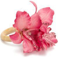 Porta Guardanapo Orquídea Oriental - Rosa