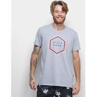 Camiseta Billabong Access Masculina - Masculino-Mescla Claro