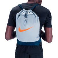 Gym Sack Nike Brasilia 9.0 - Cinza Cla/Azul Esc
