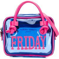 Alberta Ferretti Kids Bolsa 'Friday' - Azul