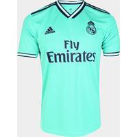 Camisa Real Madrid Third 19/20 S/Nº Torcedor Adidas Masculina - Masculino
