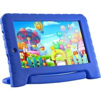 "Tablet Infantil Multilaser Kid Pad Nb278 7"" 8Gb Wi-Fi Azul"