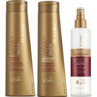 Kit Joico Shampoo Color Therapy + Condicionador 300 Ml + Leave In 200 Ml