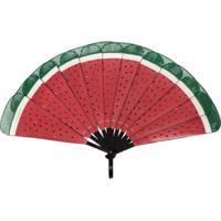 Pubumésu Pbms Watermelon Fan - Vermelho