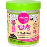 Gelatina Salon Line #Todecacho Não Sai Da Minha Cabeça 1Kg - Unissex