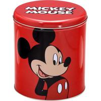 Lata Mickey Mouseâ®- Vermelha & Preta- 19Xã˜17Cm- Mabruk