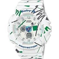 Relógio Baby-G Ba-120Sc-7Adr - Unissex-Branco