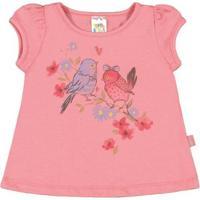 Blusas Bebê Pulla Bulla Cotton Feminina - Feminino-Rosa