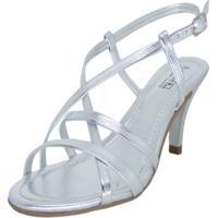 Sapato Arrive Fashion Anita Prata