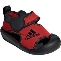 Tênis Infantil Adidas Altaventure Mickey Masculino - Unissex-Preto+Vermelho