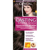 Coloração Permanente Casting Creme Gloss N° 500 Castanho Claro L'Oréal 1 Unidade