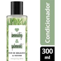 Condicionador Energizing Detox Óleo De Melaleuca & Vetiver Love Beauty And Planet 300Ml - Feminino-Incolor