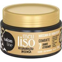 Máscara De Hidratação Salon Line Meu Liso Restauração Intensa - 300G - Unissex-Incolor